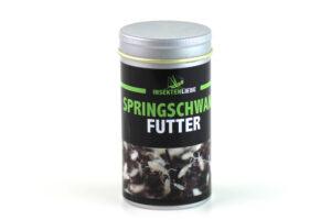 Springschwanz Futter