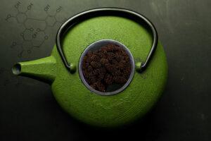 Alder cone tea