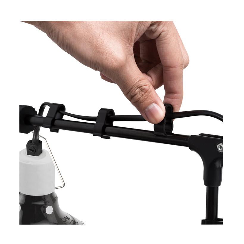 Hobby Terra Fix & Easy Lamp Holder Kabelführung